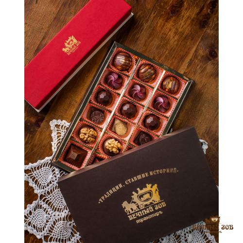 Ассорти из шоколадных конфет ручной работы