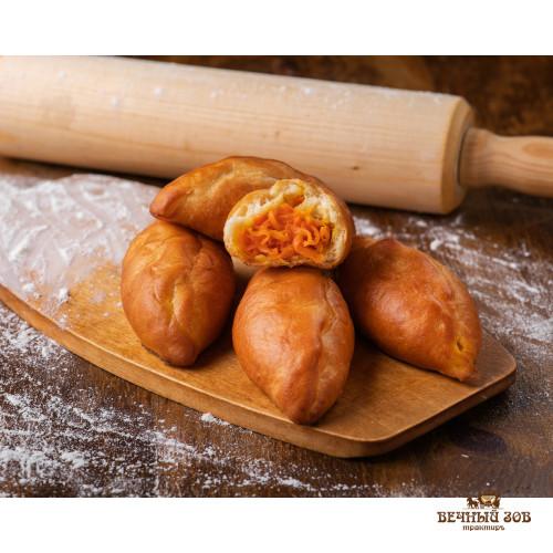 Пирожки духовые из растворчатого теста с сочным мясом