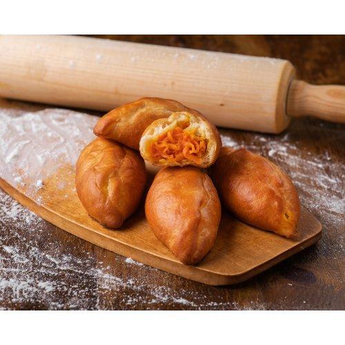 Пирожки-пряженики румяны, да пышны с мясом и рисом
