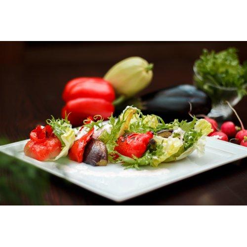 Гриль-микс из овощей с заправкой из редиса лучших сортов, приятного острого вкуса